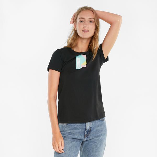 Puma international Kadın Siyah T-Shirt
