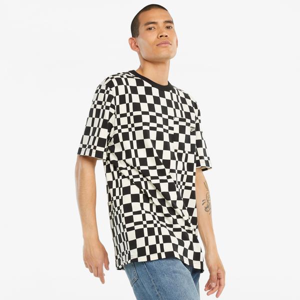 Puma Downtow Erkek Siyah T-Shirt