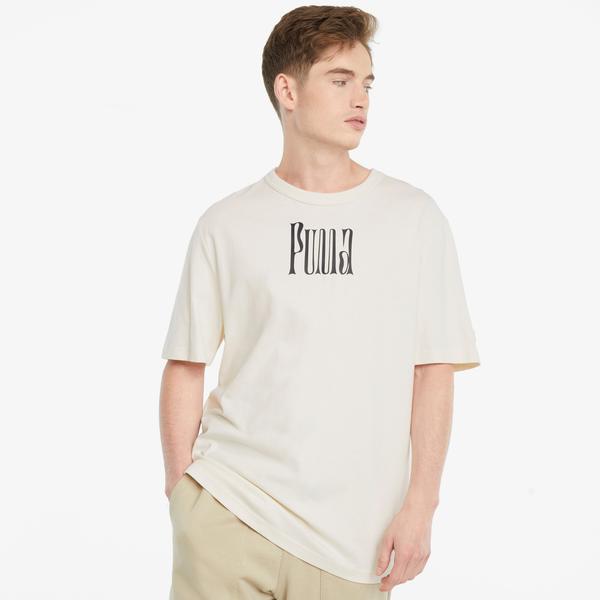 Puma Downtow Erkek Bej T-Shirt