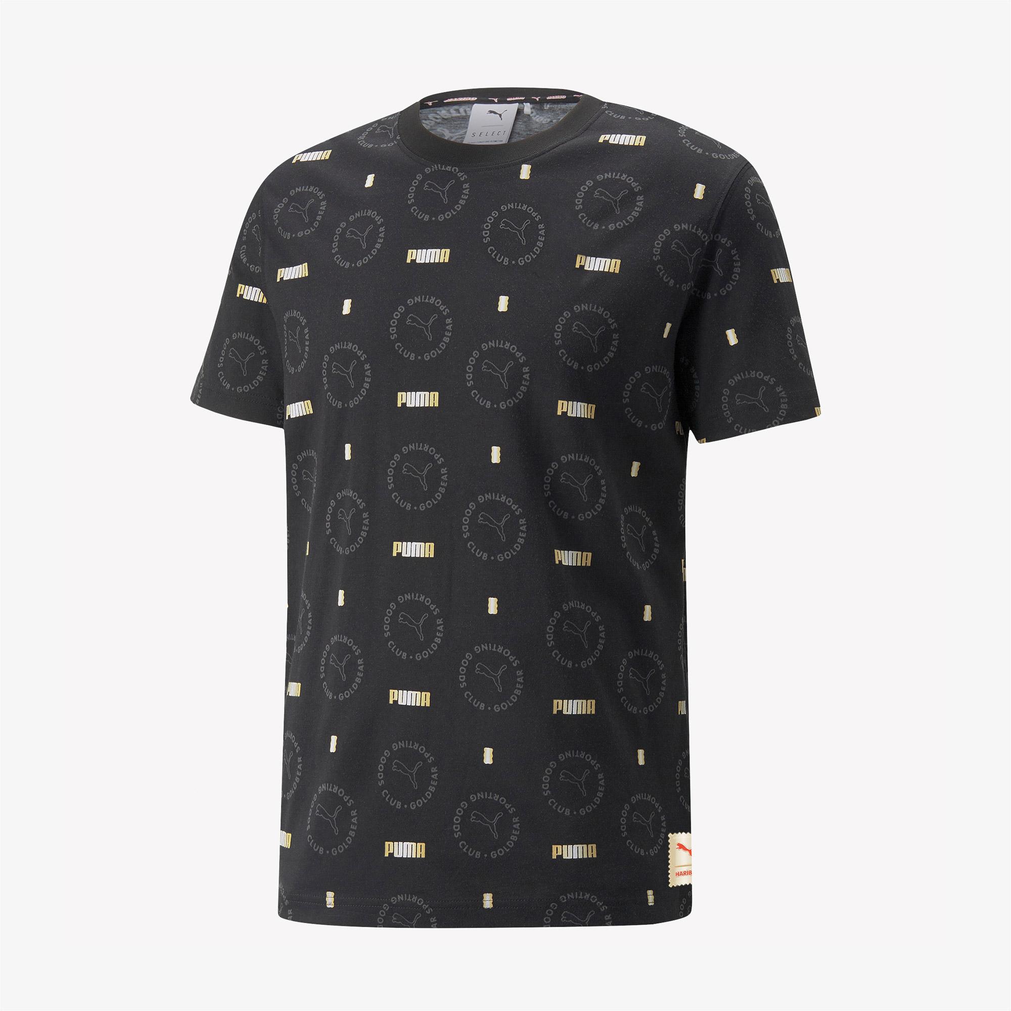 Puma X Haribo Unisex Siyah T-Shirt