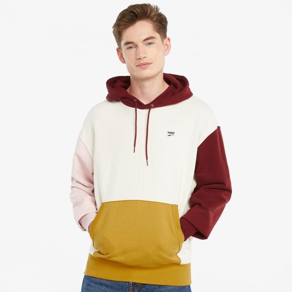 Puma Downtow Erkek Renkli Sweatshirt