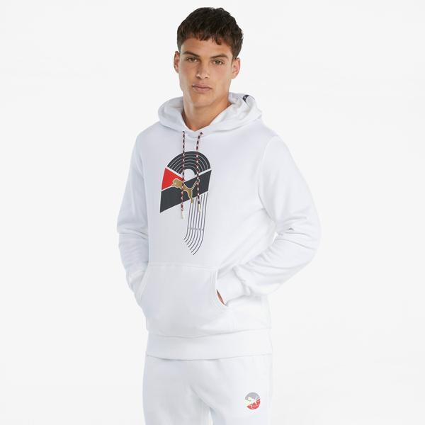 Puma AS Erkek Beyaz Sweatshirt