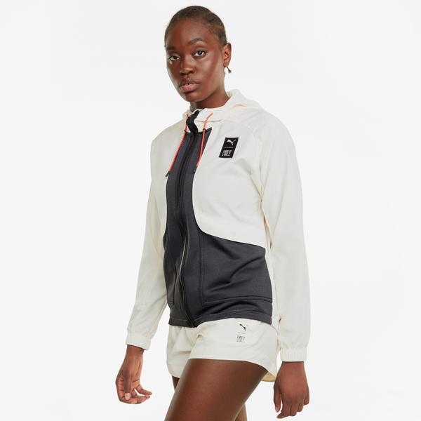Puma Train First Mile Kadın Gri Ceket