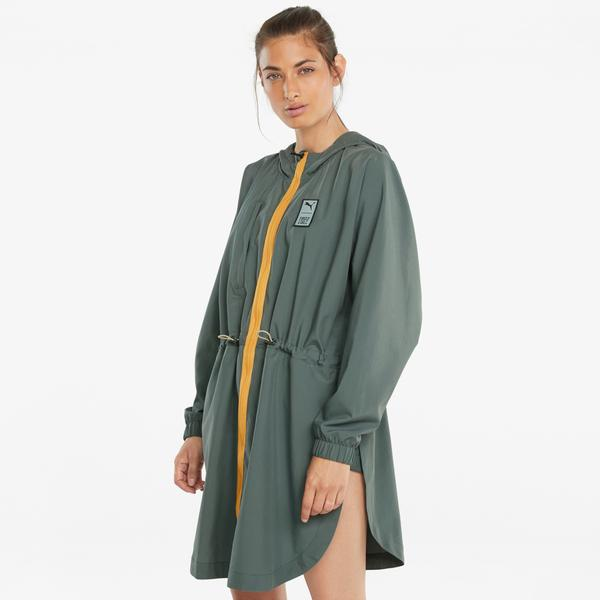 Puma Train First Mile Kadın Yeşil Ceket