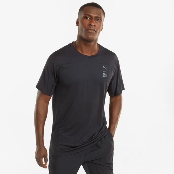 Puma Train First Mile Erkek Siyah T-Shirt