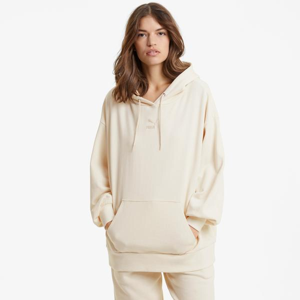 Puma Classics Kadın Bej Sweatshirt