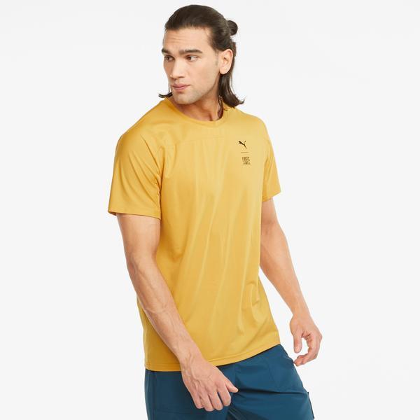 Puma Train First Mile Erkek Sarı T-Shirt