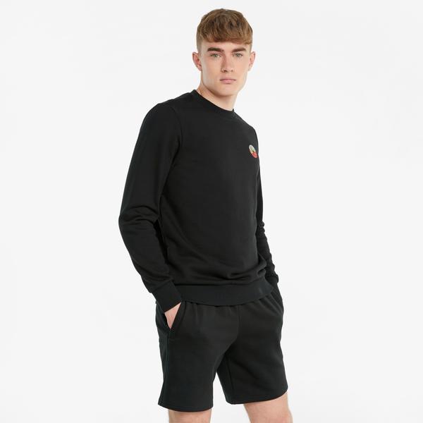 Puma AS Erkek Siyah Sweatshirt