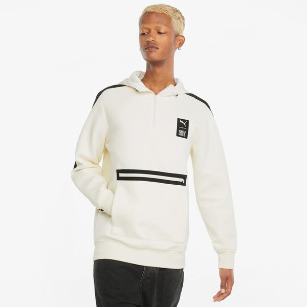 Puma First Mile Erkek Bej Sweatshirt