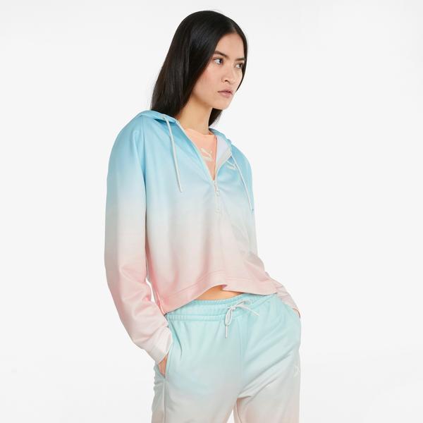 Puma Gloaming Kadın Mavi Sweatshirt