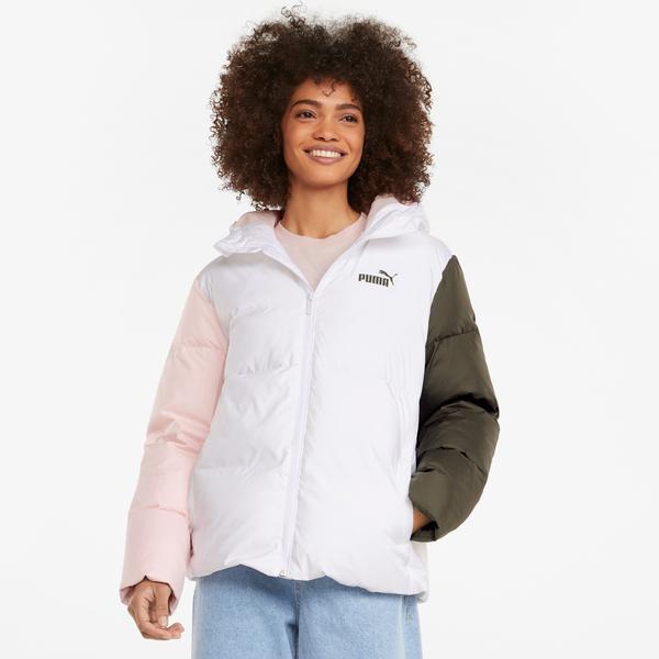 Puma ESS + CB Kadın Beyaz Ceket