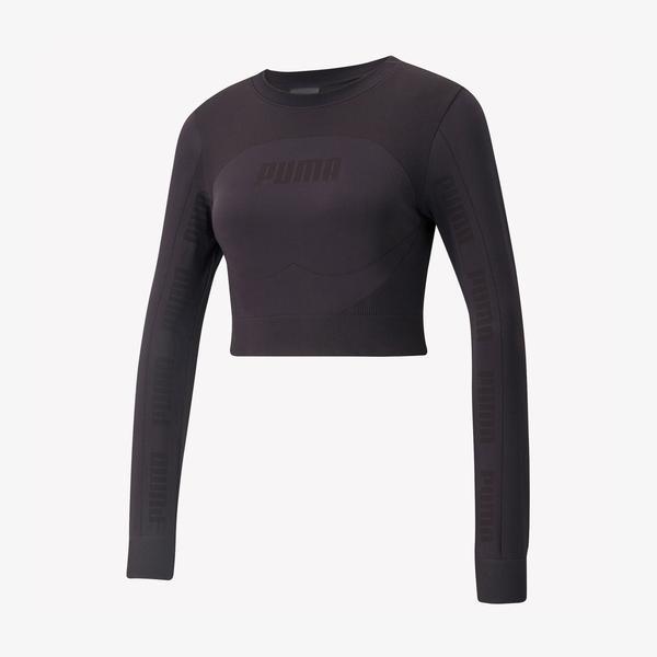 Puma Evostripe Evoknit Kadın Siyah T-Shirt