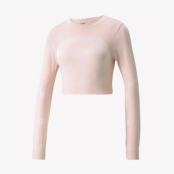 Puma Evostripe Evoknit Kadın Pembe T-Shirt