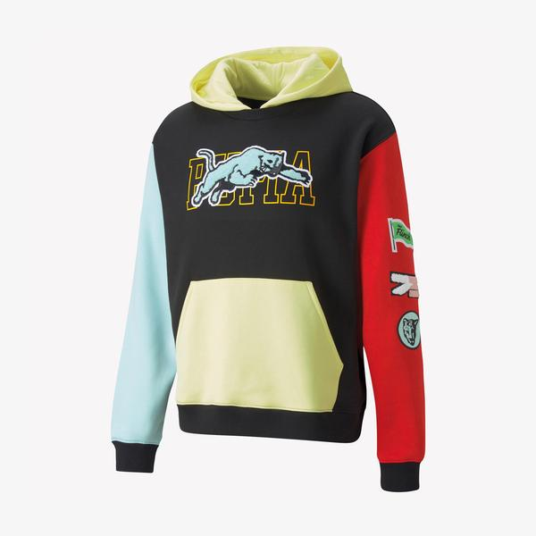 Puma Combine Erkek Renkli Sweatshirt