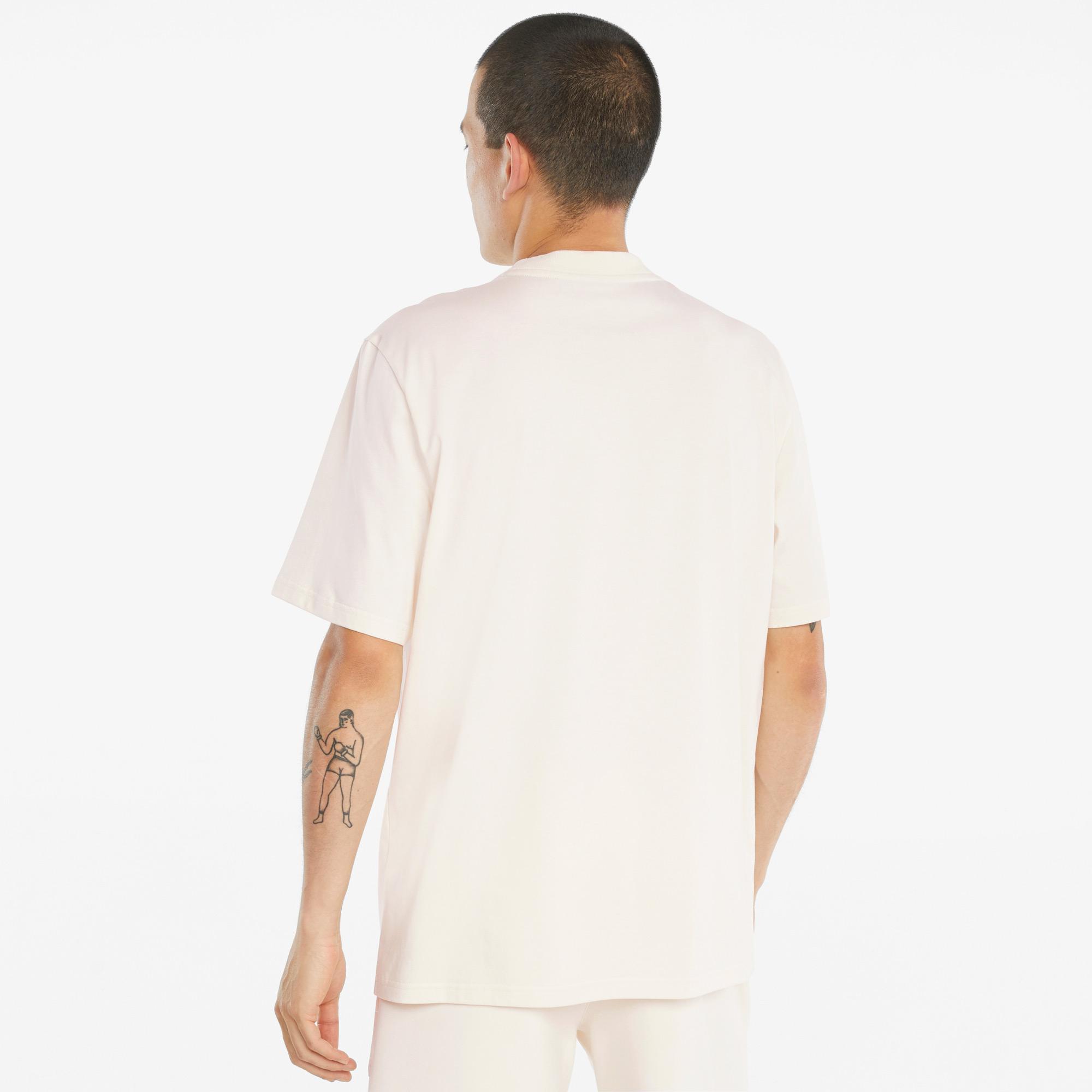 Puma First Mile Erkek Bej T-Shirt