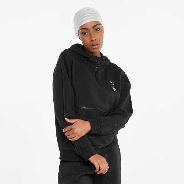 Puma First Mile Kadın Siyah Sweatshirt