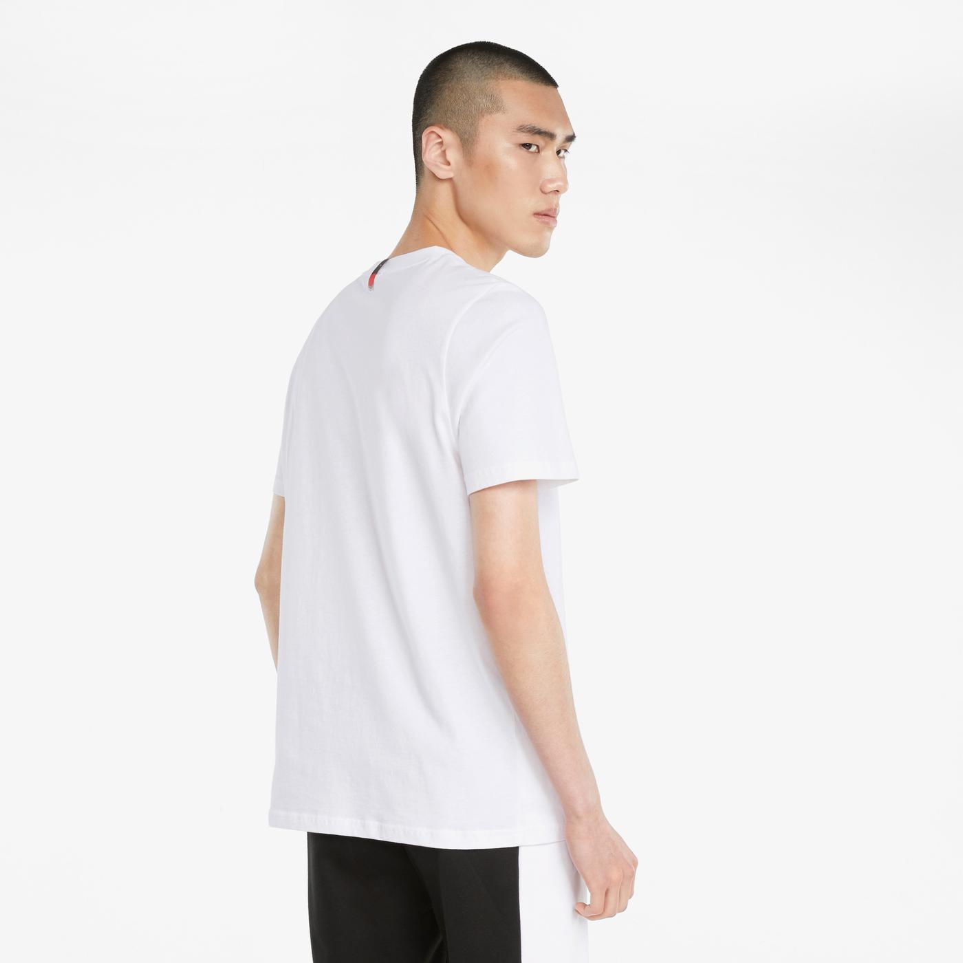 Puma AS Erkek Beyaz T-Shirt