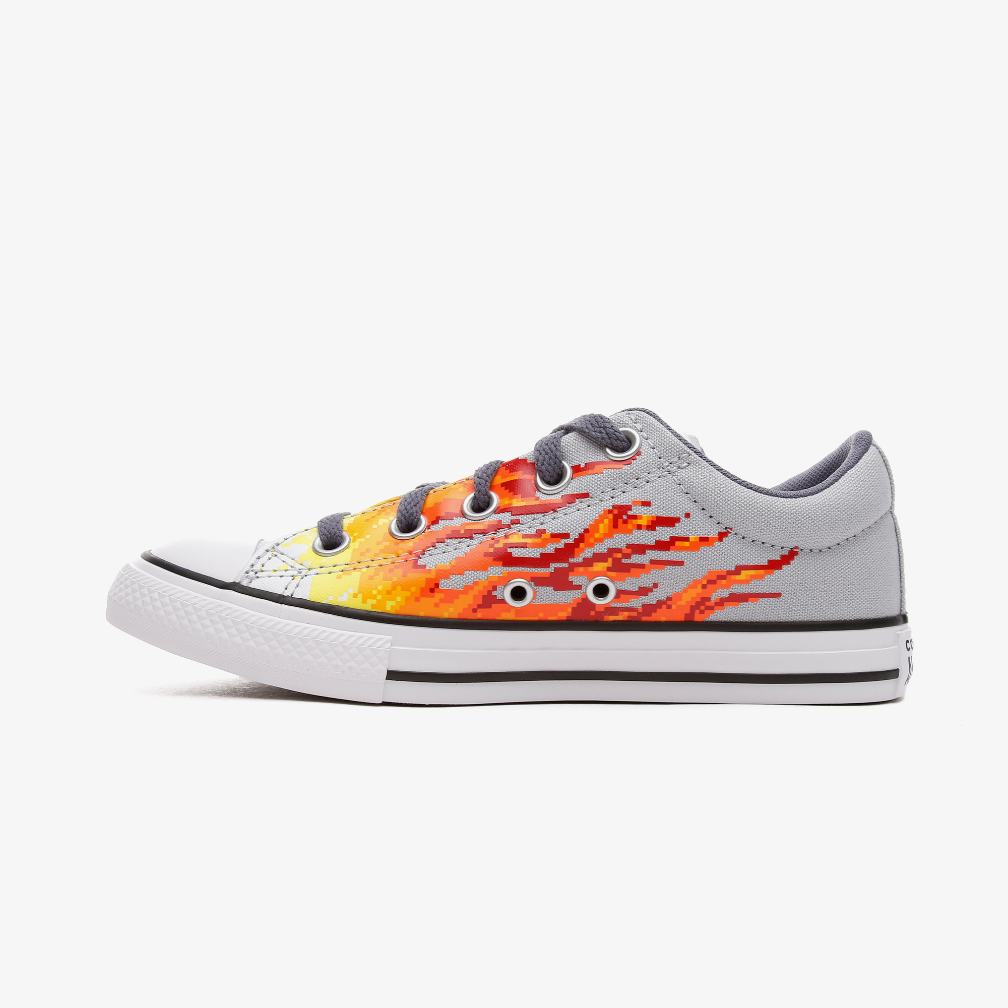 Converse Chuck Taylor All Star Street Çocuk Gri Sneaker