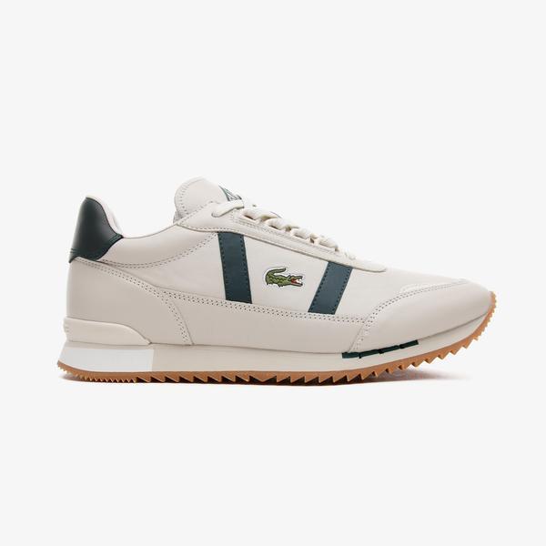 Lacoste Partner Retro 0721 1 Sma Erkek Beyaz - Koyu Yeşil Spor Ayakkabı