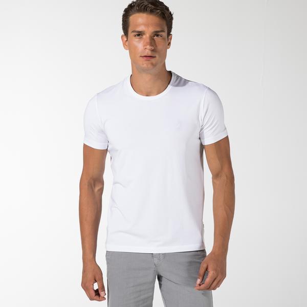 Nautica Erkek Beyaz Standart Fit T-Shirt