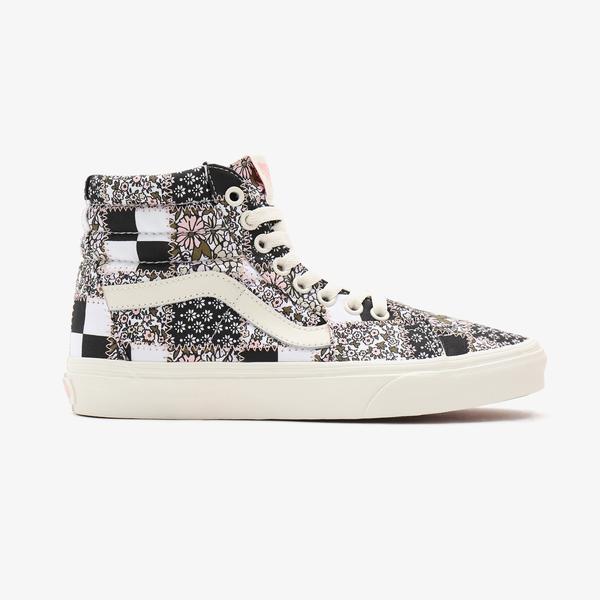Vans Atchwork Floral Sk8-Hi Kadın Renkli Sneakers
