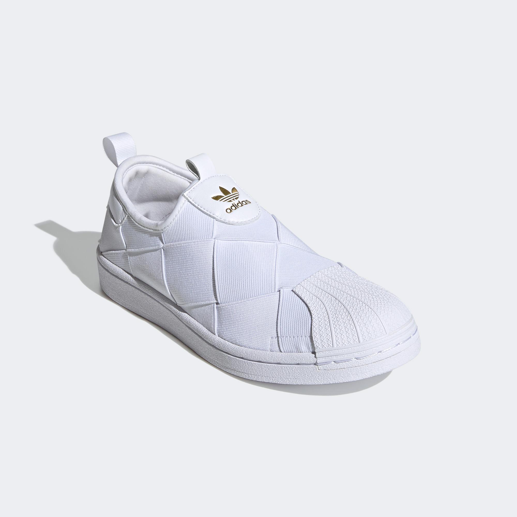 adidas Superstar Slip On Kadın Beyaz Spor Ayakkabı