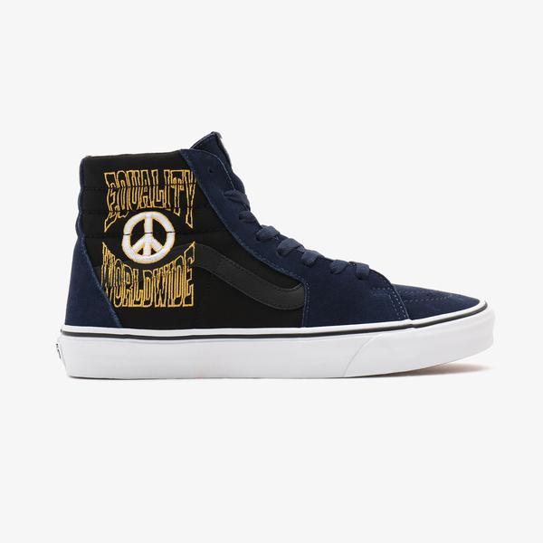 Vans UA Sk8-Hi Unisex Gri Sneaker