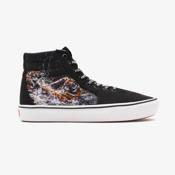 Vans UA Comfycush Sk8-Hi Unisex Siyah Sneaker