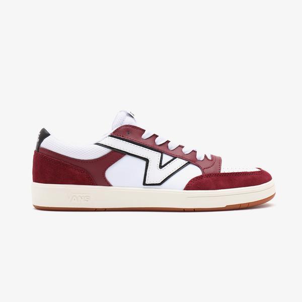 Vans UA Lowland Unisex Kırmızı Sneaker