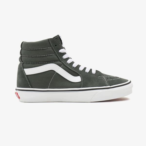Vans UA Sk8-Hi Unisex Yeşil Sneaker