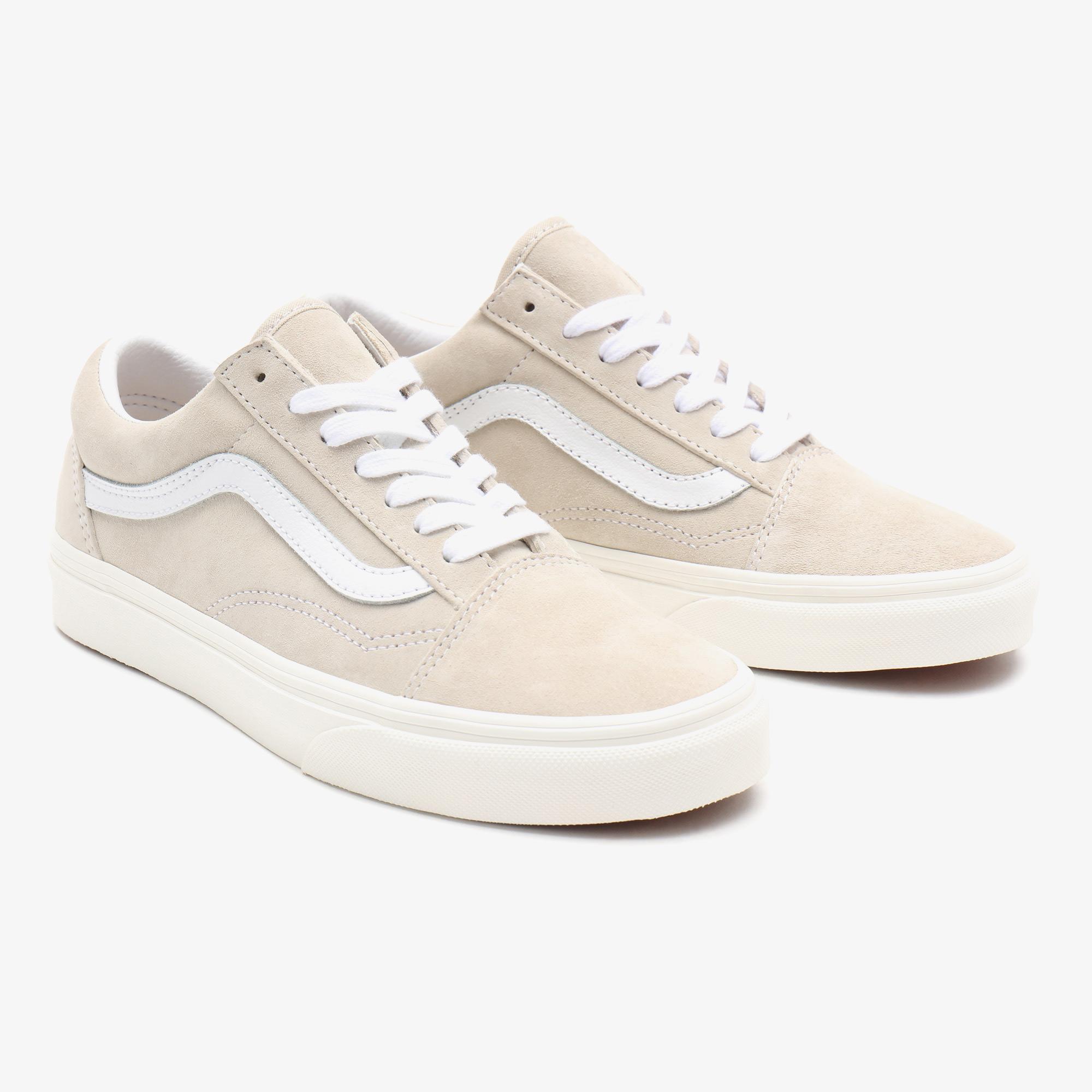 Vans UA Old Skool Unisex Bej Sneaker