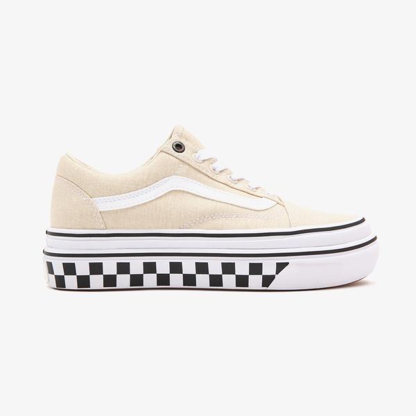 Vans UA Super Comfycush Old Skool Unisex Bej Sneaker