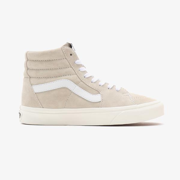 Vans UA Sk8-Hi Unisex Bej Sneaker