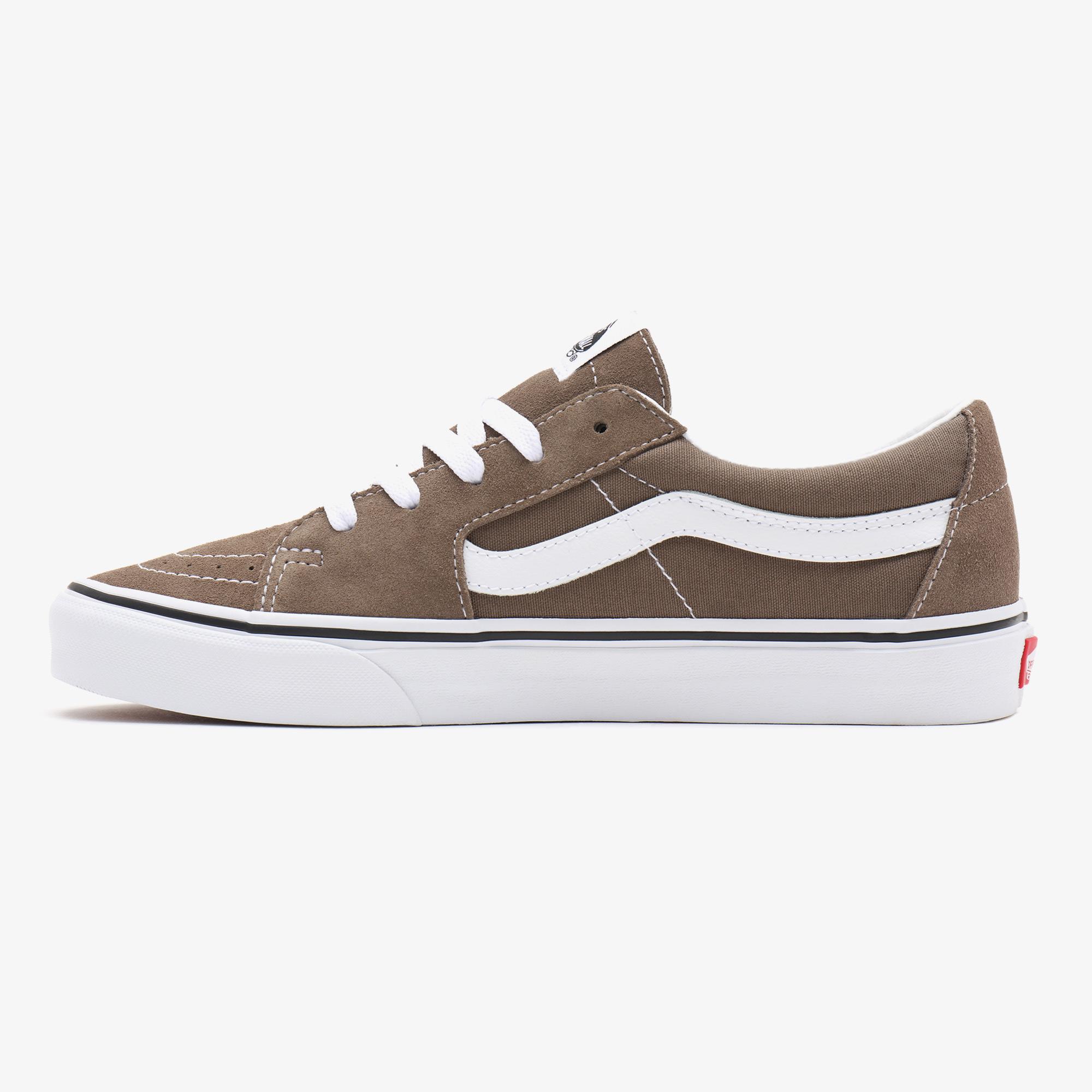Vans UA Sk8-Low Unisex Kahverengi Sneaker