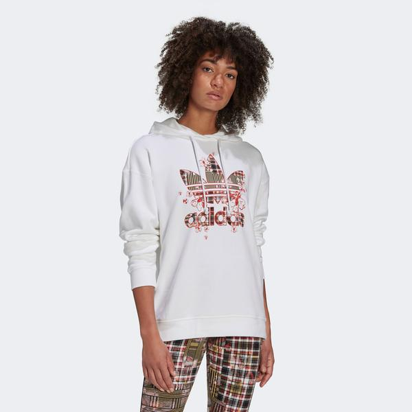 adidas Kadın Beyaz Sweatshirt