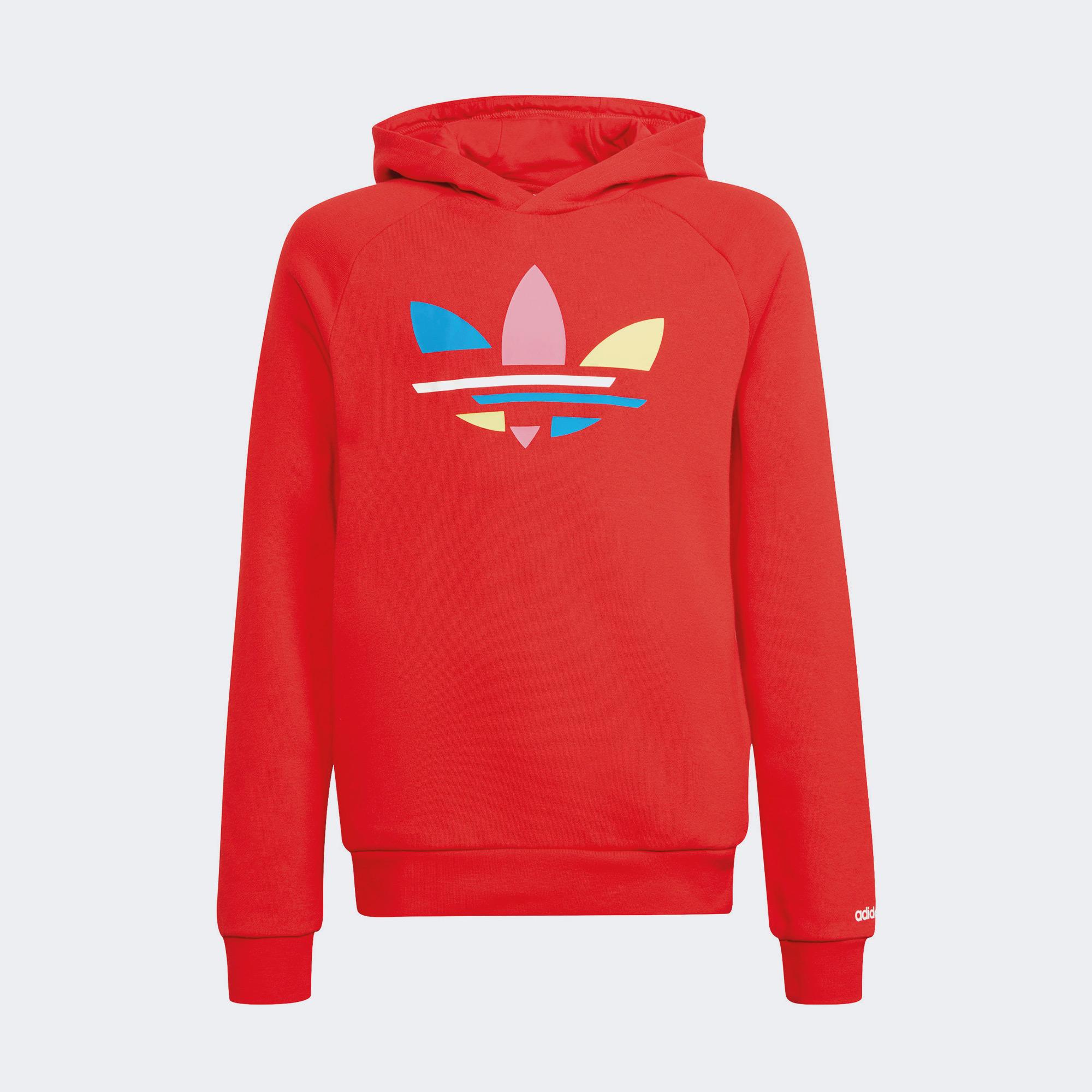 adidas Çocuk Kırmızı Sweatshirt