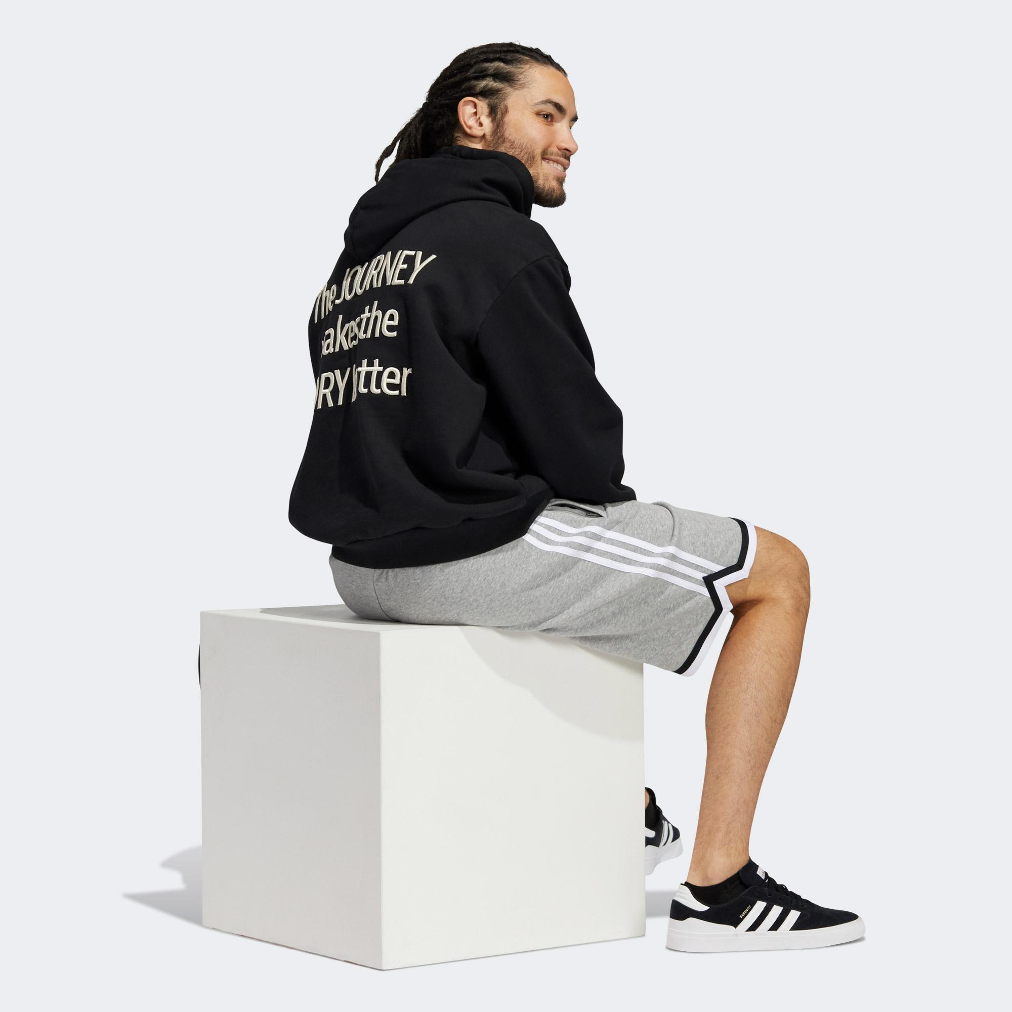 adidas Erkek Siyah Sweatshirt