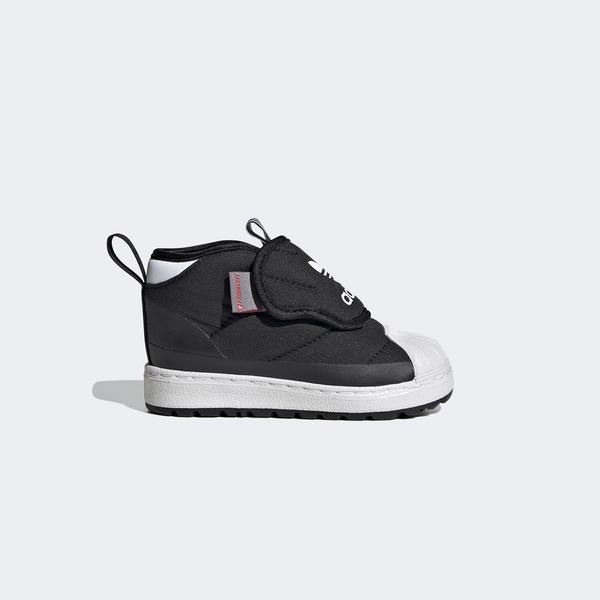 adidas Superstar 360 Boot Bebek Siyah Spor Ayakkabı