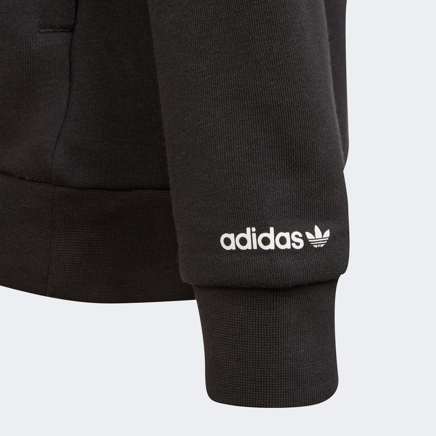 adidas Çocuk Siyah Sweatshirt