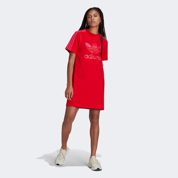 adidas Kadın Kırmızı Elbise
