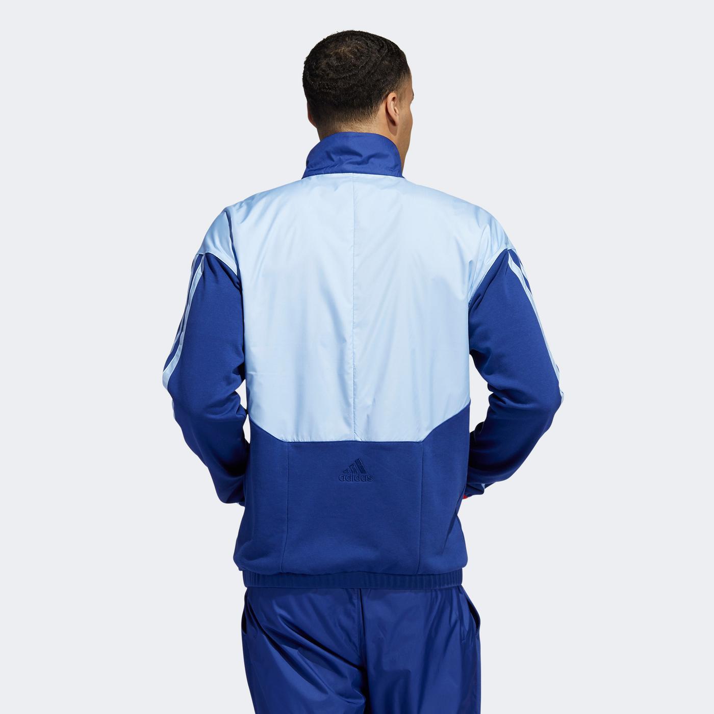 adidas Erkek Mavi Eşofman Üstü
