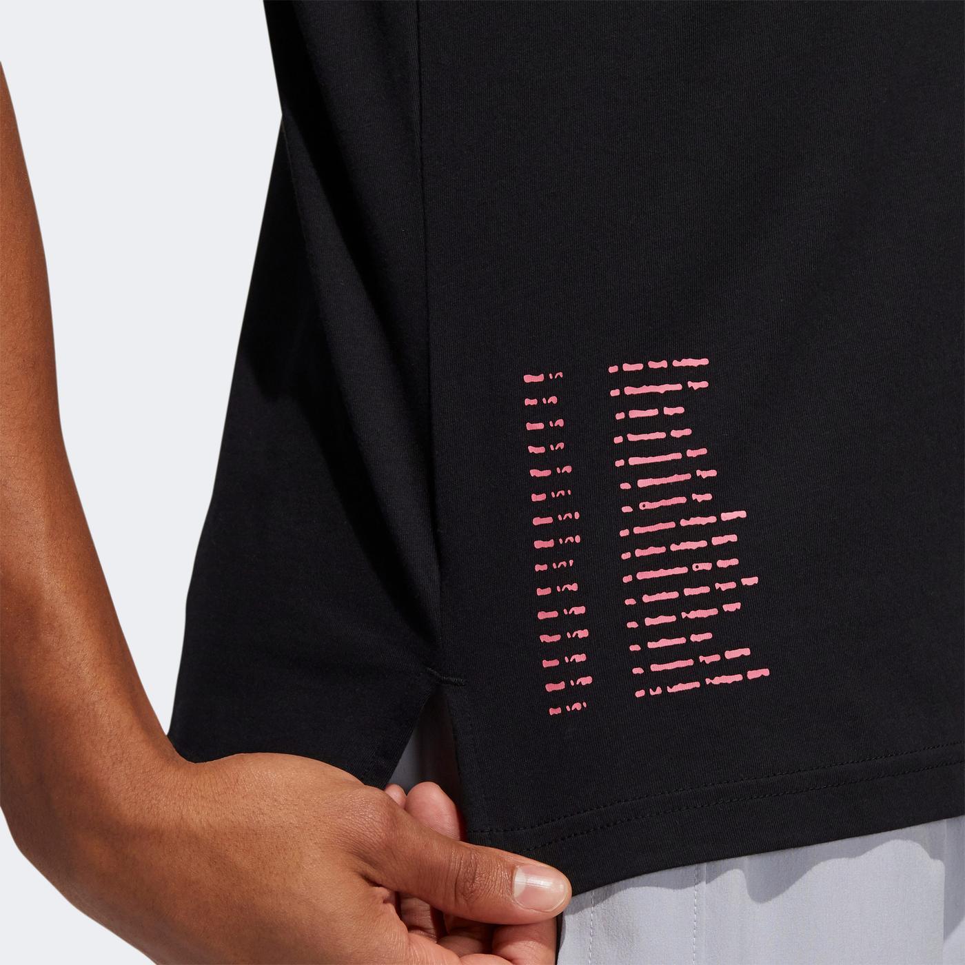adidas Dame 7 Ep Erkek Siyah T-shirt