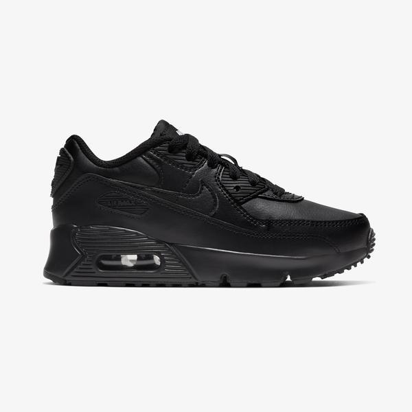 Nike Air Max 90 Çocuk Siyah Spor Ayakkabı