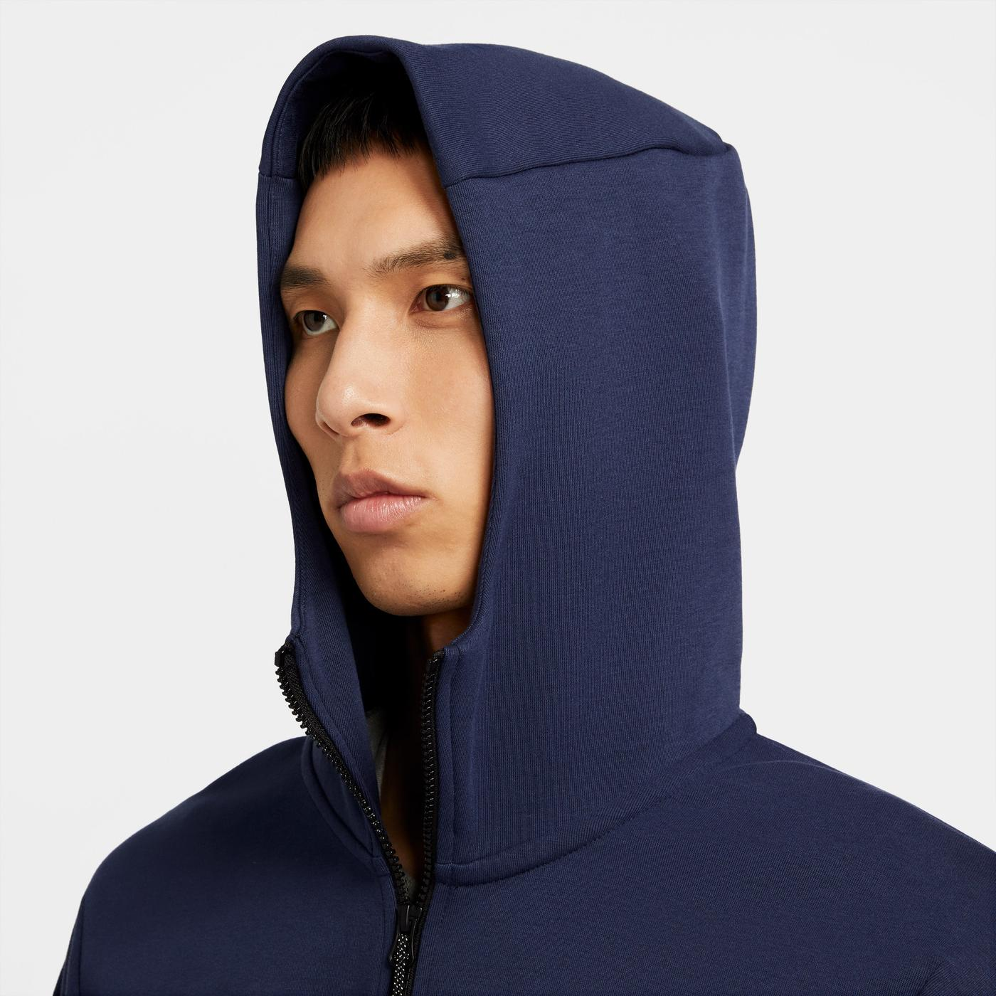 Nike Tech Fleece Erkek Mavi Ceket