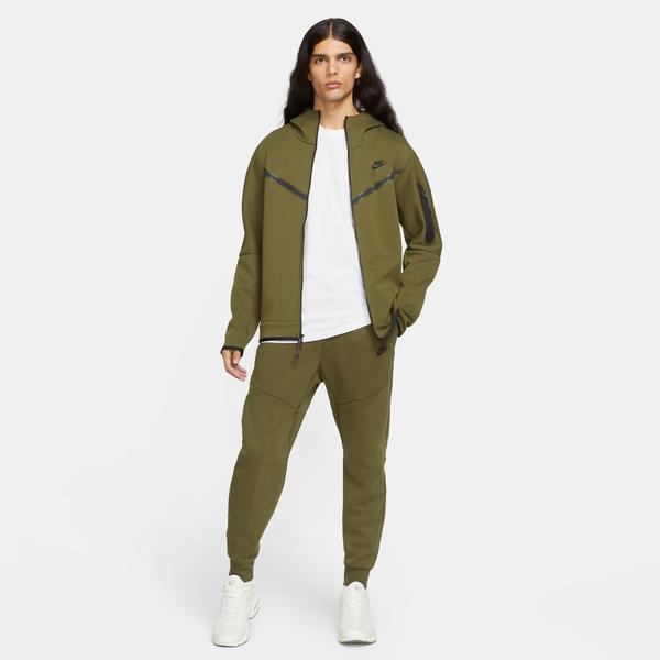 Nike Tech Fleece Erkek Yeşil Eşofman Altı