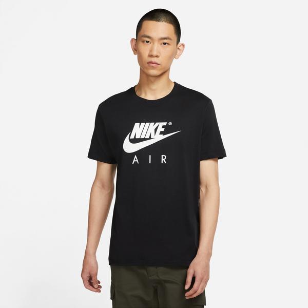 Nike Air Gx Erkek Siyah T-shirt