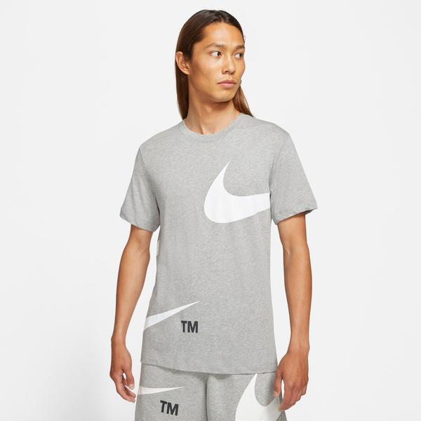 Nike Sportswear Erkek Gri T-shirt