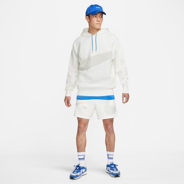 Nike Swoosh French Terry Erkek Beyaz Şort