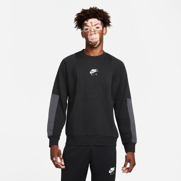 Nike Air Crew Erkek Siyah T-shirt