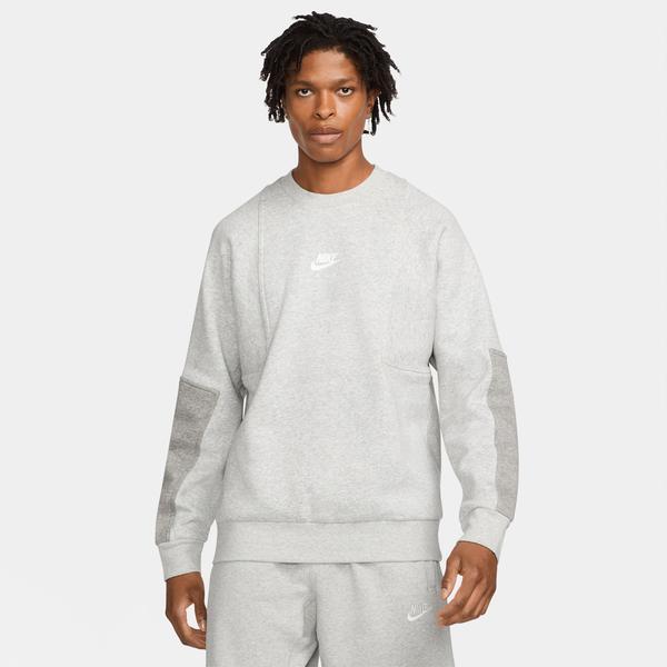 Nike Air Crew Erkek Gri T-shirt